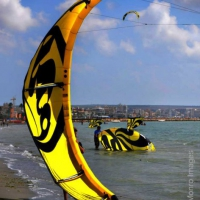 K for Kite... as in Kitesurfing