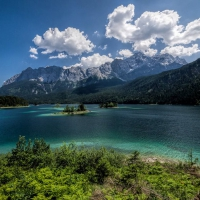 Z is for Zugspitze and Eibsee