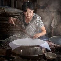 The rice paper maker