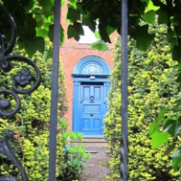 Blue Door - cropped