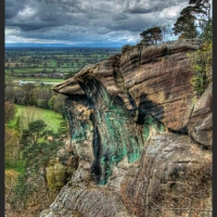The Precipice at Hawkstone Park