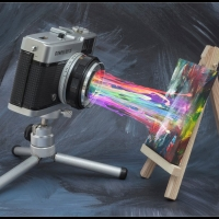 Phil Moorhouse - Painting With Light - Scored 19