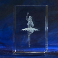 Richard-22675-Glass-block-ballerina-sculpture-blue-background