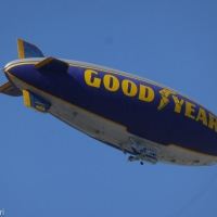G is for Goodyear Blimp
