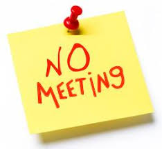 3rd December – NO MEETING